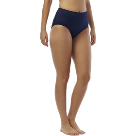TYR Solids Culotte taille haute Femme, navy